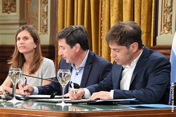"""Magario participó de la adhesión de la Provincia al """"Plan Argentina contra el Hambre"""""""