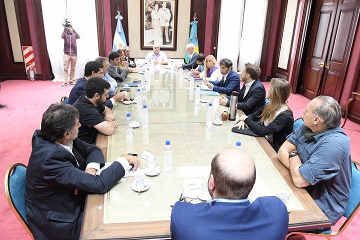 Coronavirus: Magario y Kicillof coordinaron un encuentro con ministros y legisladores