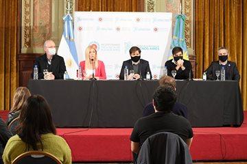 """Magario lanzó junto a Kicillof el programa """"Bonaerenses Solidarios y Solidarias"""""""