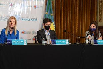 "Magario lanzó junto a Kicillof y Estela Díaz ""Comunidades sin Violencias"""