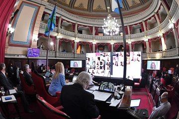 El Senado bonaerense aprobó por unanimidad la prorroga de la suspensión de determinados desalojos