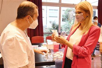 """Magario: """"El operativo de vacunación funcionó de forma maravillosa en todos los hospitales"""""""