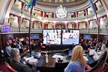 El Senado bonaerense ratificó sus autoridades durante la sesión preparatoria