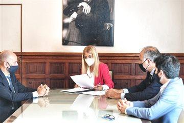Verónica Magario firmó un Convenio de Cooperación con el Colegio de Magistrados bonaerense