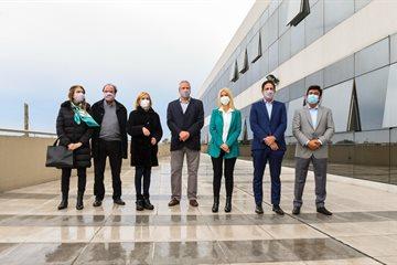 Magario participó de la inauguración del Centro Universitario de la Innovación en La Matanza