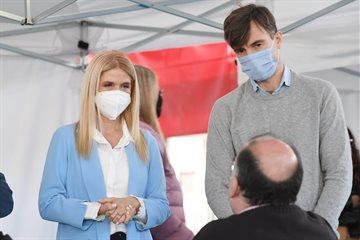 """Magario: """"Están llegando muchas vacunas; precisamos que se inscriban todos los mayores de 18"""""""
