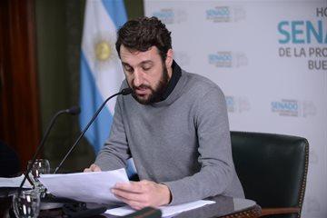 Encuentro de la Comisión de Seguridad del Senado Bonaerense