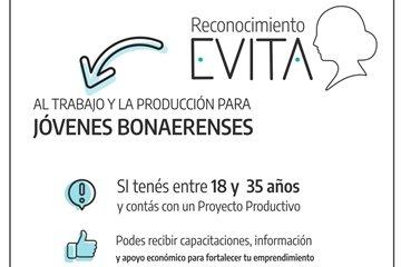 """Lanzamiento del """"Reconocimiento Evita"""" destinado a emprendedores y emprendedoras de entre 18 y 35"""